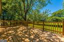Newly renovated deck - 5741 MOUNTVILLE RD, ADAMSTOWN