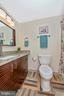 Newly renovated full half bath - 5741 MOUNTVILLE RD, ADAMSTOWN