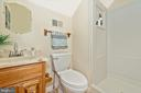 Full bath upstairs - 5741 MOUNTVILLE RD, ADAMSTOWN