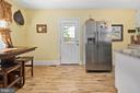 Open and updated cozy eat-in kitchen - 3109 13TH ST S, ARLINGTON