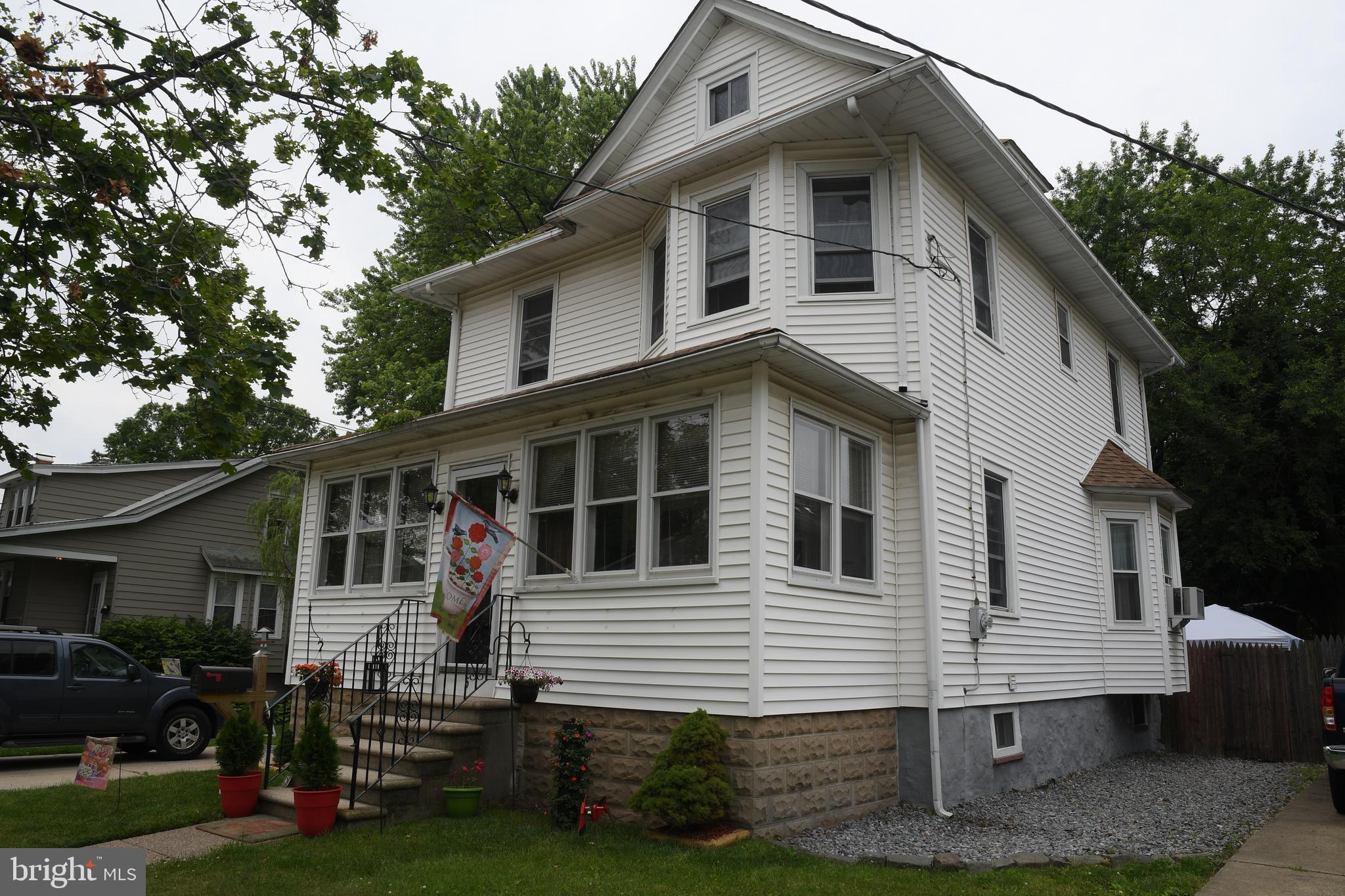 Home For Sale At 5 W Narberth Terrace In Collingswood Nj