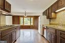 Kitchen with Large Eating area - 8301 CURRY PL, ADELPHI