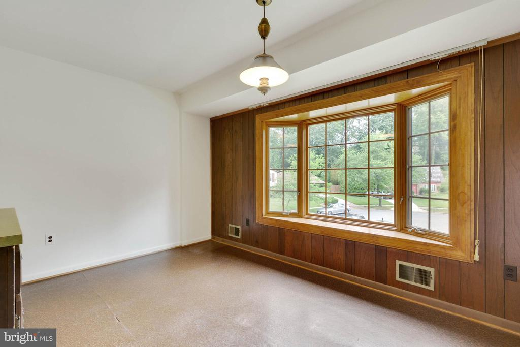 Breakfast Room with large bay window - 8301 CURRY PL, ADELPHI