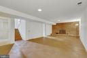 Recreation Room with Brick Fireplace - 8301 CURRY PL, ADELPHI