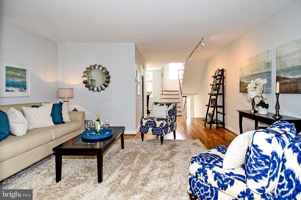 Living Room - 857 3RD ST SW #104, WASHINGTON