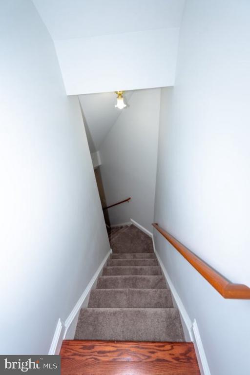 Stairs to Basement - 13524 LITZA WAY, WOODBRIDGE