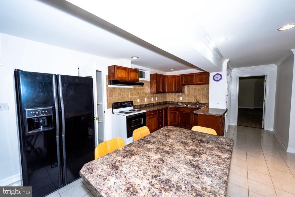 Basement - 2nd Kitchen - 13524 LITZA WAY, WOODBRIDGE