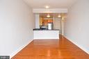 Living/Dining - 800 4TH ST SW #N817, WASHINGTON