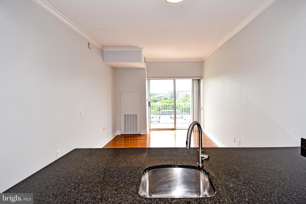 Kitchen/Living - 800 4TH ST SW #N817, WASHINGTON