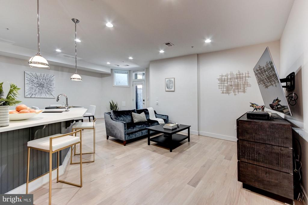 Large Open Flow - 1352 QUINCY ST NW #1, WASHINGTON