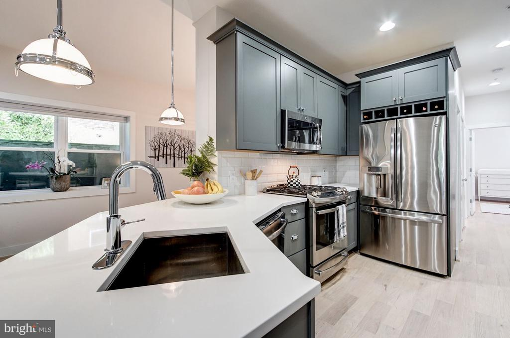 Beautiful Open Kitchen - 1352 QUINCY ST NW #1, WASHINGTON