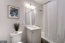 Second Full Bathroom - 1352 QUINCY ST NW #1, WASHINGTON