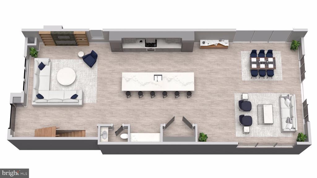 Layout 1  for Main Level (2) - 5706 NEVADA AVE NW, WASHINGTON