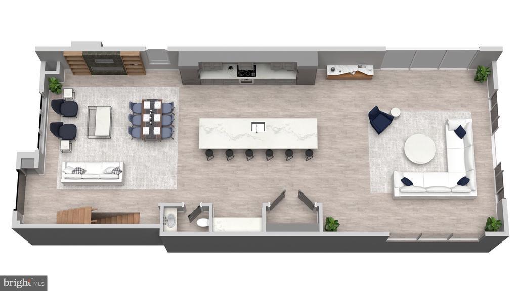 Layout 2  for Main Level (2) - 5706 NEVADA AVE NW, WASHINGTON