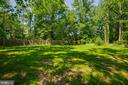 Backyard- private oasis - 5500 ODELL RD, BELTSVILLE