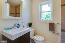 Nicely renovated full bathroom! - 5500 ODELL RD, BELTSVILLE