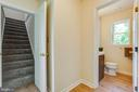 Hallway to Bathroom and Bedrooms - 5500 ODELL RD, BELTSVILLE