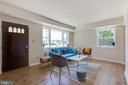 Living Room - 5500 ODELL RD, BELTSVILLE