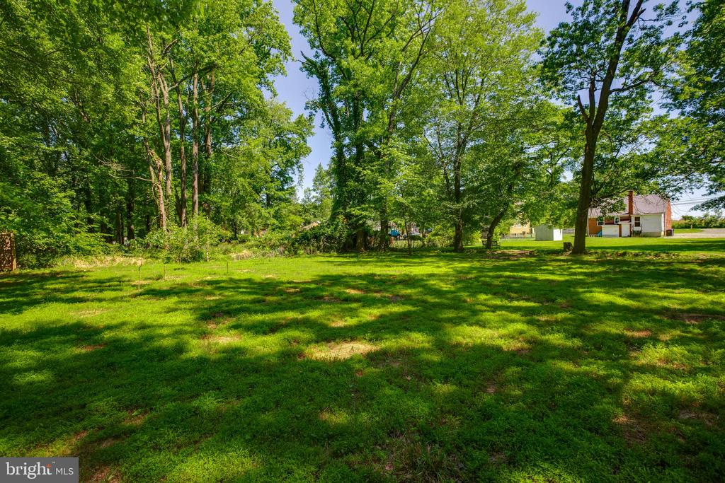 Backyard - Private oasis - 5500 ODELL RD, BELTSVILLE