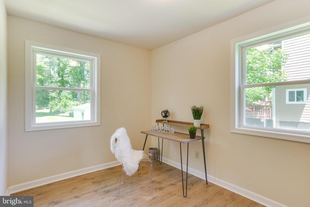 1st Bedroom - Office - 5500 ODELL RD, BELTSVILLE