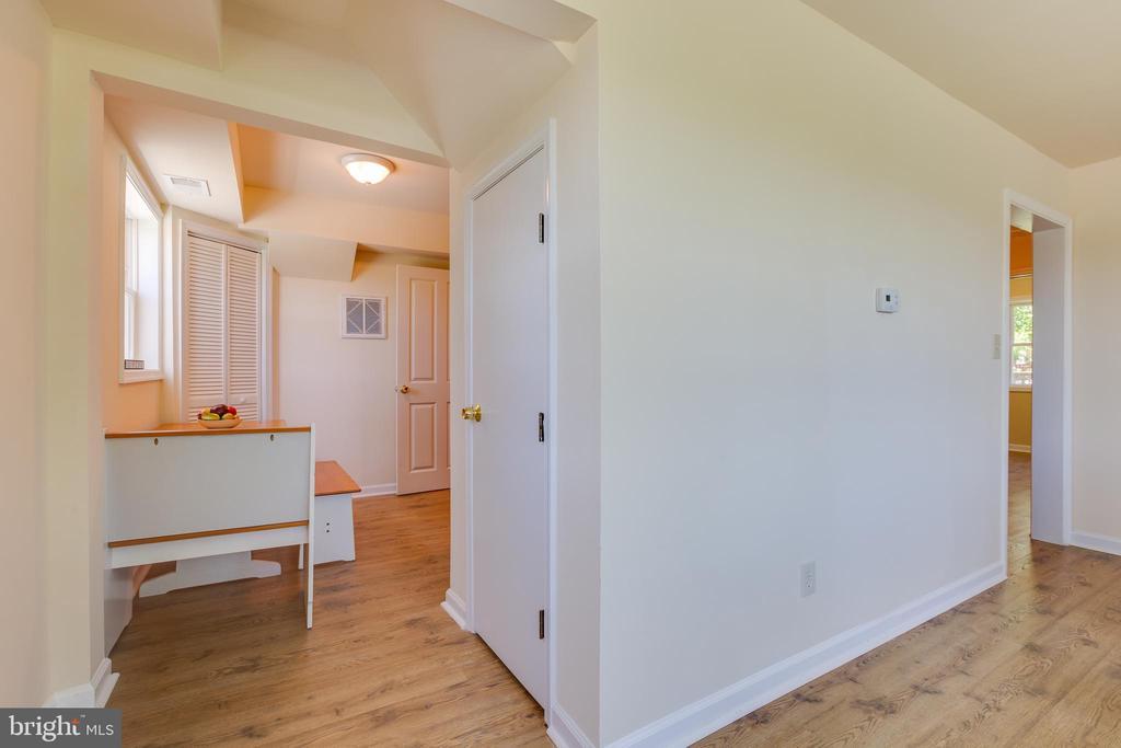 Entering Dining nook/ Kitchen - 5500 ODELL RD, BELTSVILLE