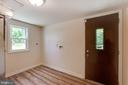 Laundry Room/ Backdoor Mudroom exit  ! - 5500 ODELL RD, BELTSVILLE