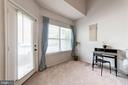 Living Rm Even Has Separate Space for Home Office - 4404 HELMSFORD LN #203, FAIRFAX