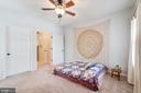 Master Bedroom #2 also Boasts a Walk-In Closet - 4404 HELMSFORD LN #203, FAIRFAX