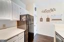 Kitchen - Generous Size & Nicely Updated - 4404 HELMSFORD LN #203, FAIRFAX