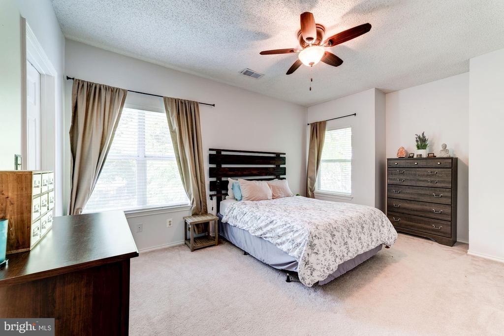 Master Bedroom #1 - Ceiling Fan & 2 Large Windows - 4404 HELMSFORD LN #203, FAIRFAX