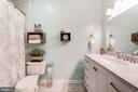 Recently Renovated Master Bathroom - Beautiful - 4404 HELMSFORD LN #203, FAIRFAX