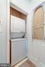 Washer & Dryer Located Inside the Condo - 4404 HELMSFORD LN #203, FAIRFAX