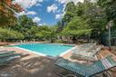 Community Outdoor Pool & Sun Deck - 4404 HELMSFORD LN #203, FAIRFAX