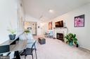 Living Room features Recess Lighting - 4404 HELMSFORD LN #203, FAIRFAX