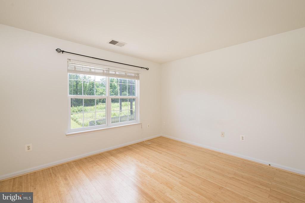Bedroom #3 w/ Hardwoods - 10905 HOWITZER DR, FREDERICKSBURG