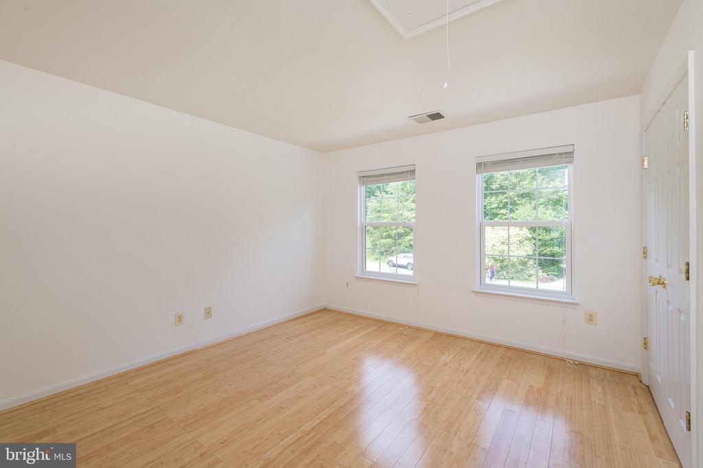 Bedroom #2 w/Hardwoods - 10905 HOWITZER DR, FREDERICKSBURG