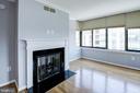 Gas fireplace - 2220 FAIRFAX DR #708, ARLINGTON