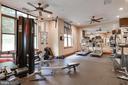 Fitness room on the main level - 2220 FAIRFAX DR #708, ARLINGTON
