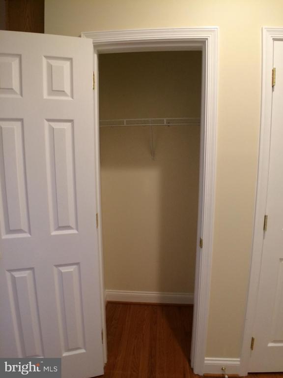 Hall coat closet - 12302 HUNGERFORD MANOR CT, MONROVIA