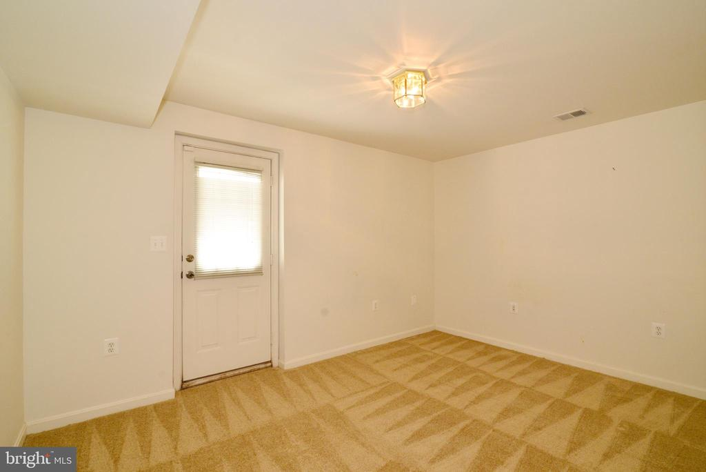 Lower level 4th bedroom - 607 NATHAN PL NE, LEESBURG