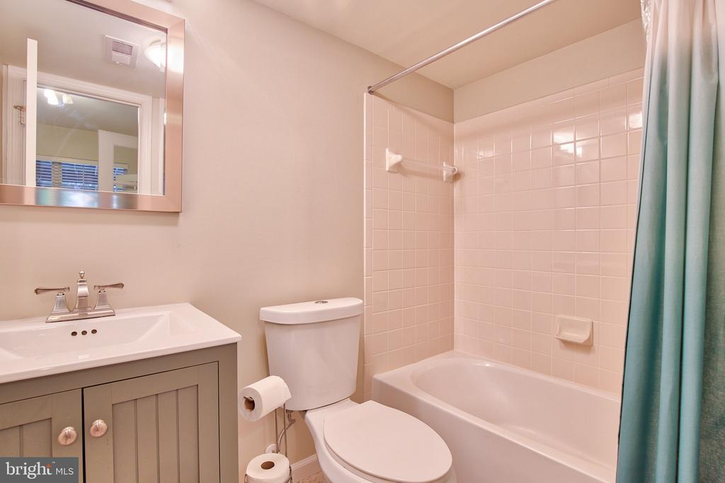 Lower Level full bath - 18309 MILL RIDGE TER, LEESBURG