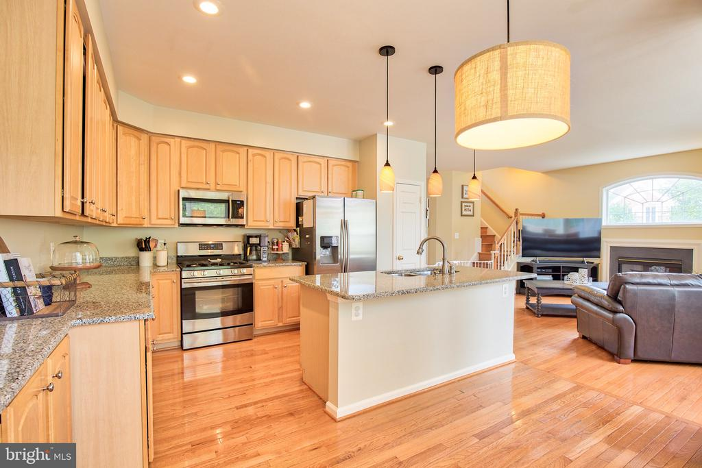 Modern conveniences in the kitchen - 18309 MILL RIDGE TER, LEESBURG