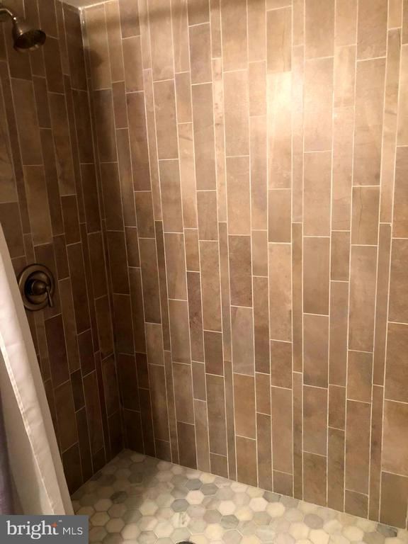 Gorgeous Newer Shower in Lower Level Bathroom - 11707 OLD BAYBERRY LN, RESTON