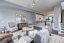 Main Level - Living Room - 779 MORTON ST NW #B, WASHINGTON