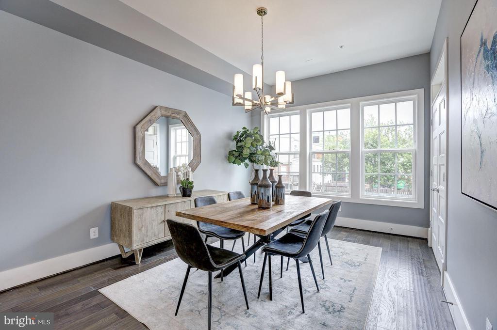 Main Level - Dining Room - 779 MORTON ST NW #B, WASHINGTON