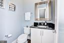 Main Level - Powder Room - 779 MORTON ST NW #B, WASHINGTON