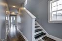 First Upper Level - Hallway - 779 MORTON ST NW #B, WASHINGTON
