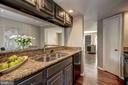 Granite countertops in kitchen - 2817-D S WOODROW ST #124-8, ARLINGTON
