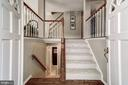 Welcoming split foyer - 2817-D S WOODROW ST #124-8, ARLINGTON