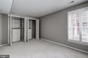 Basement bedroom with awesome closet - 2817-D S WOODROW ST #124-8, ARLINGTON